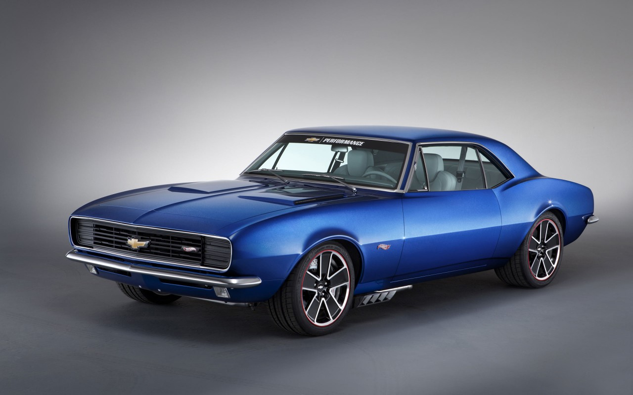 1967 Chevrolet Camaro Hot Wheels Wallpaper Hd Car
