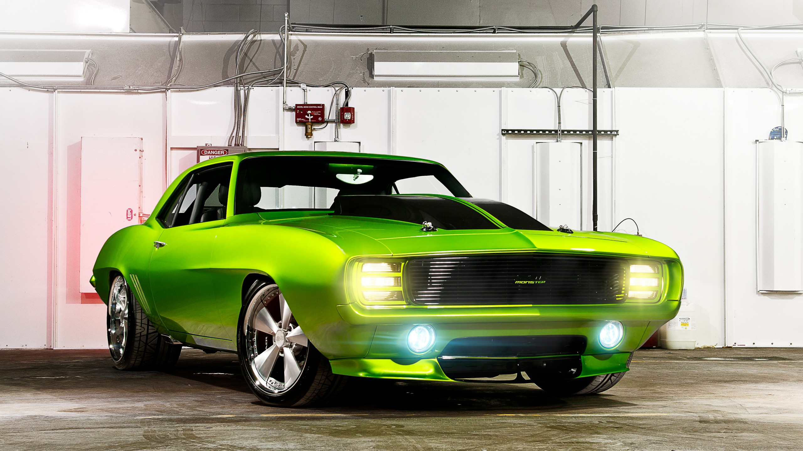 Chevy Muscle Car Wallpaper: 1969 Chevy Camaro Monster Wallpaper