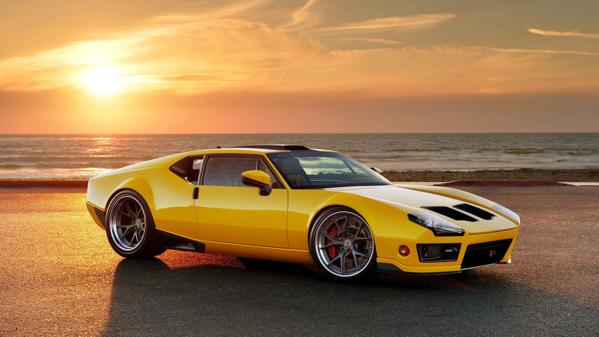 1971 Ringbrothers DeTomaso Pantera Wallpaper | HD Car ...