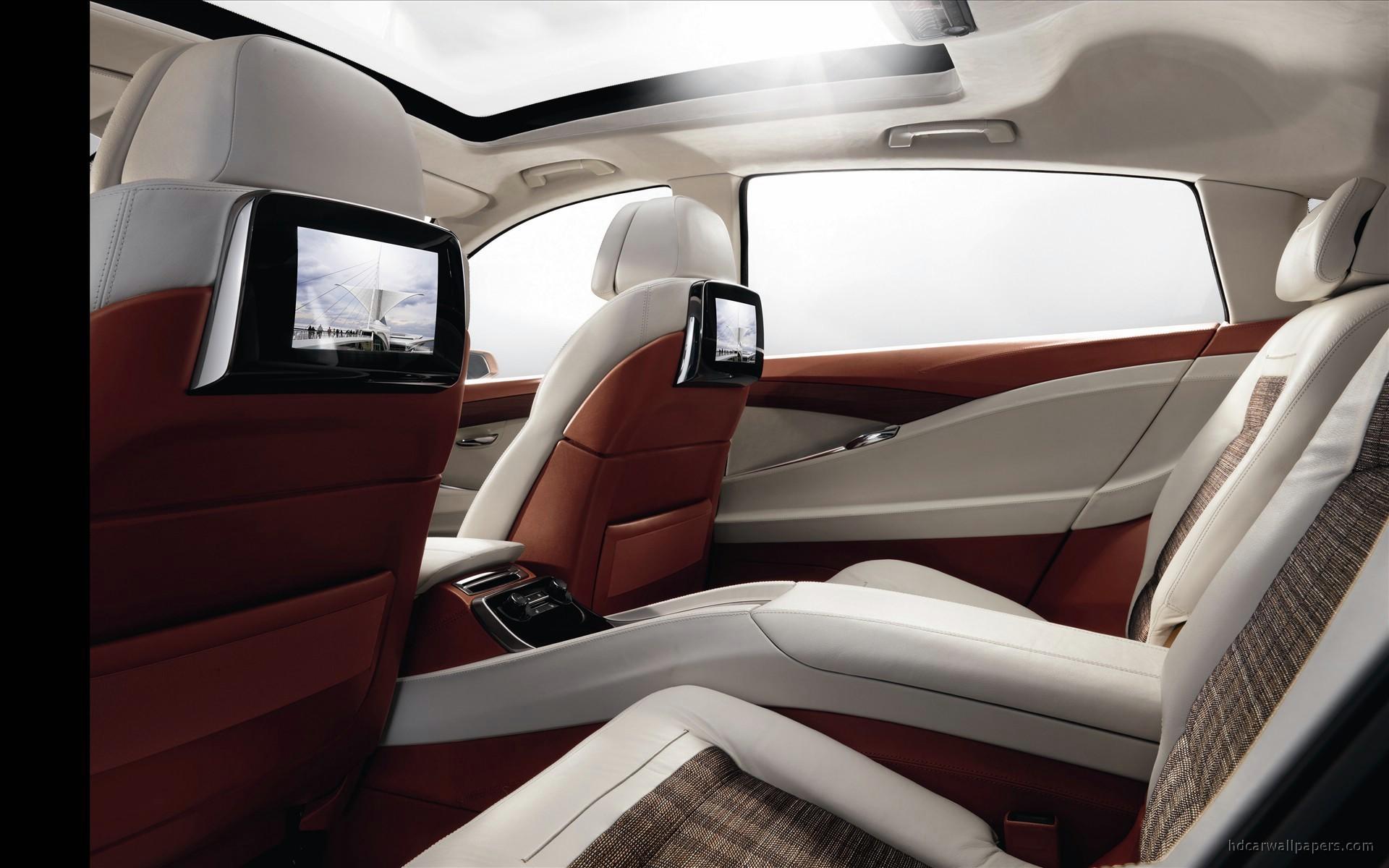 2009 BMW Concept 5 Series Gran Turismo Interior Wallpaper ...