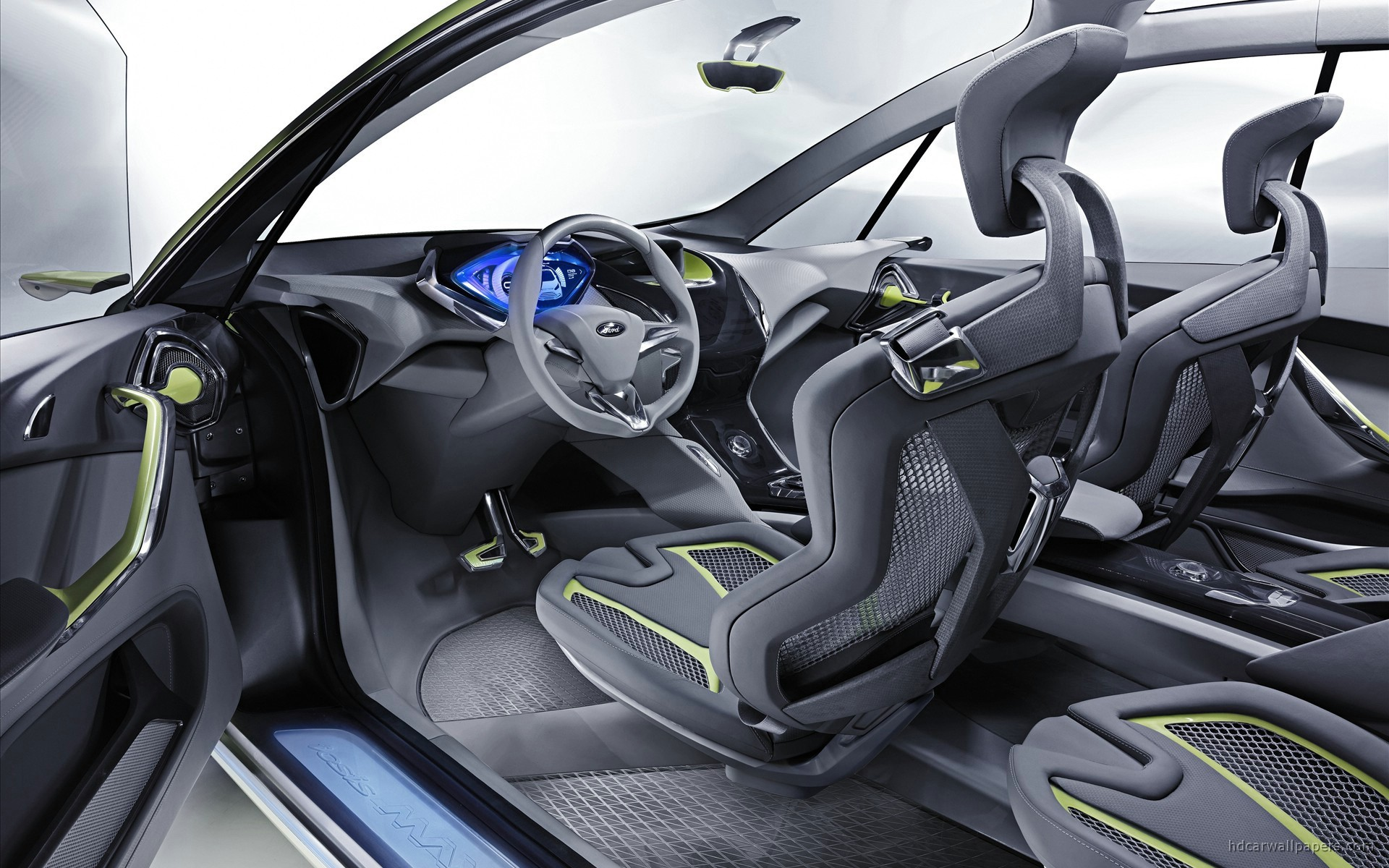 2009 Ford iosis MAX Concept Interior Wallpaper | HD Car ...