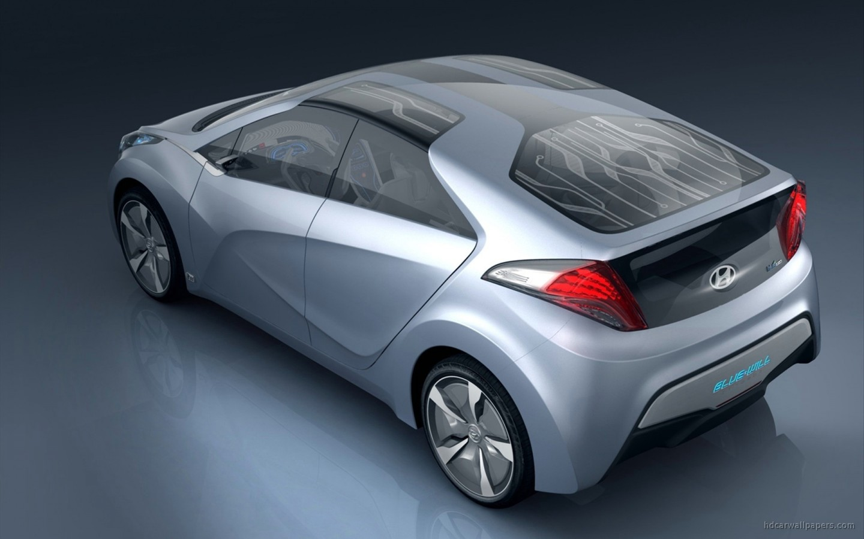 2009 Hyundai Blue Will Concept 2 Wallpaper   HD Car Wallpapers   ID 986