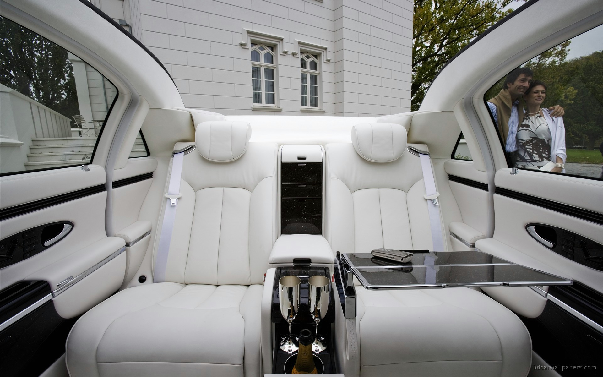 2009 Maybach Landaulet Interior Wallpaper | HD Car ...
