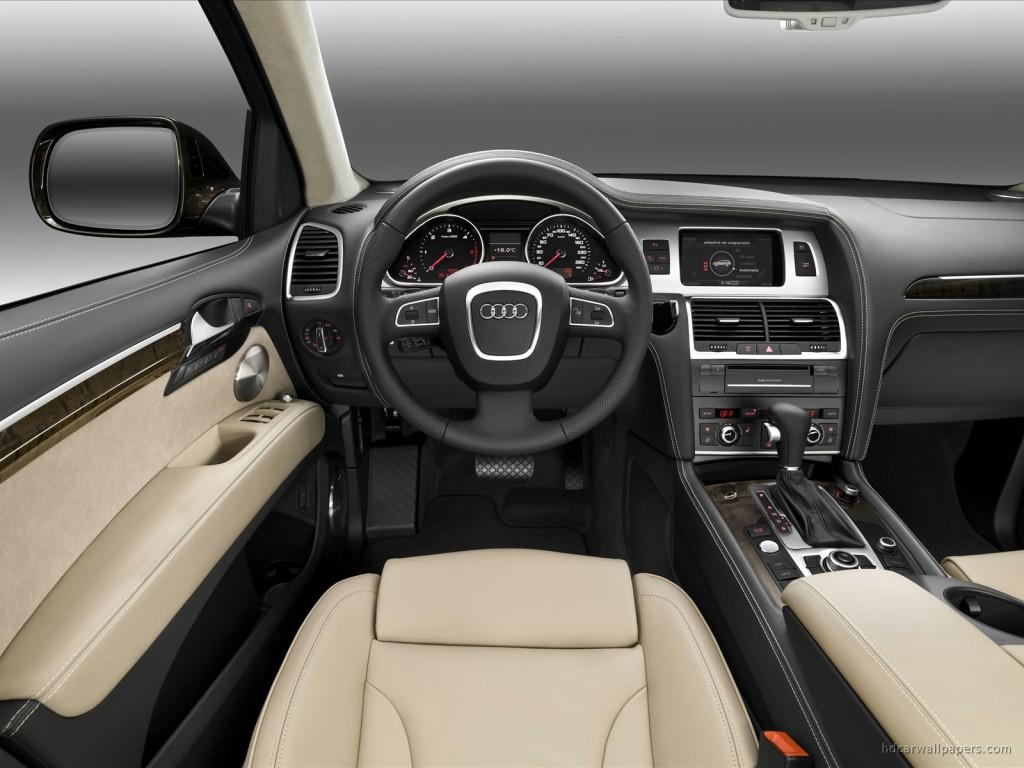 2010 Audi Q7 Interior Wallpaper | HD Car Wallpapers | ID #203