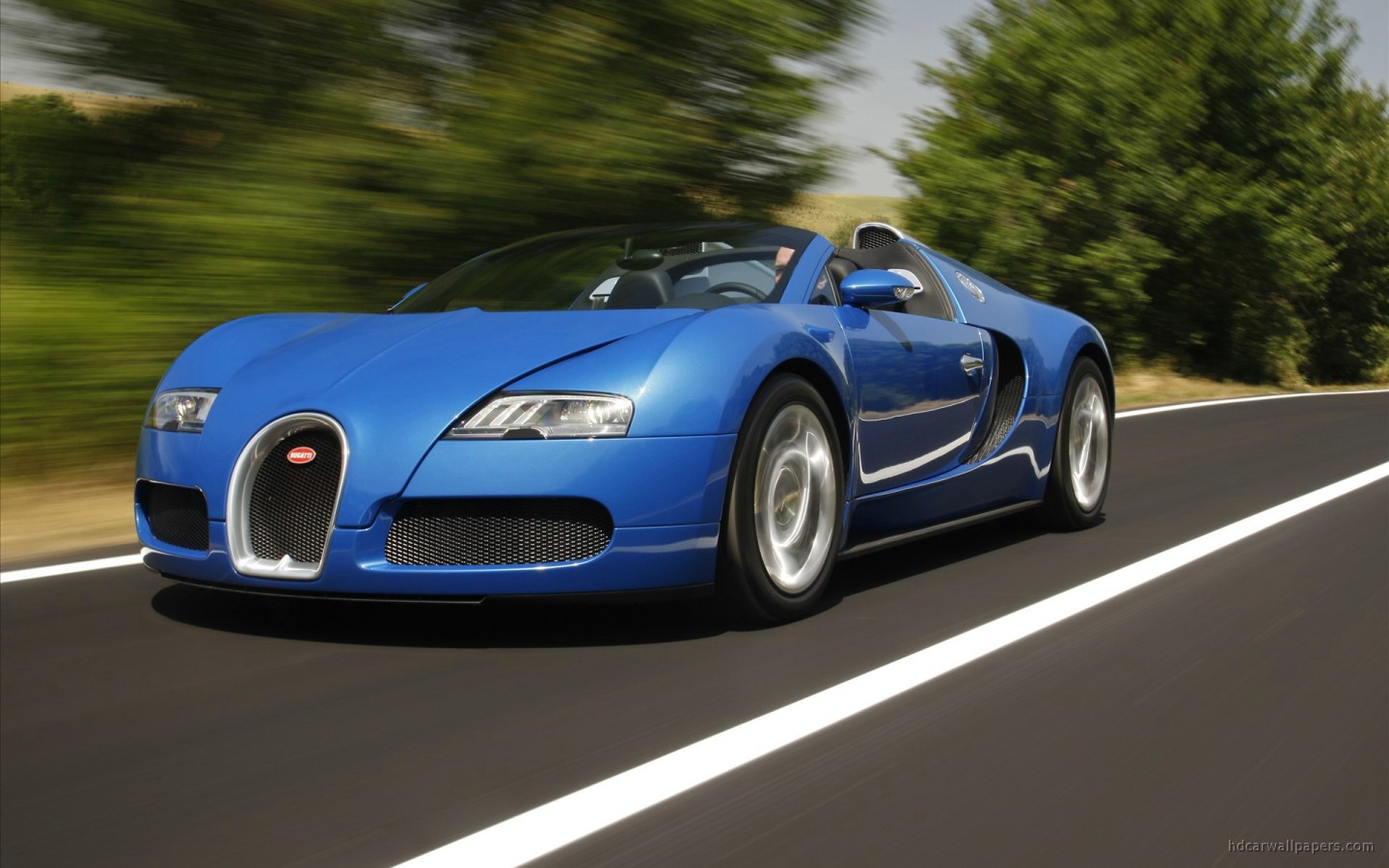 Wallpaper Bugatti Veyron Grand Sport: 2010 Bugatti Veyron Grand Sport Rome Wallpaper