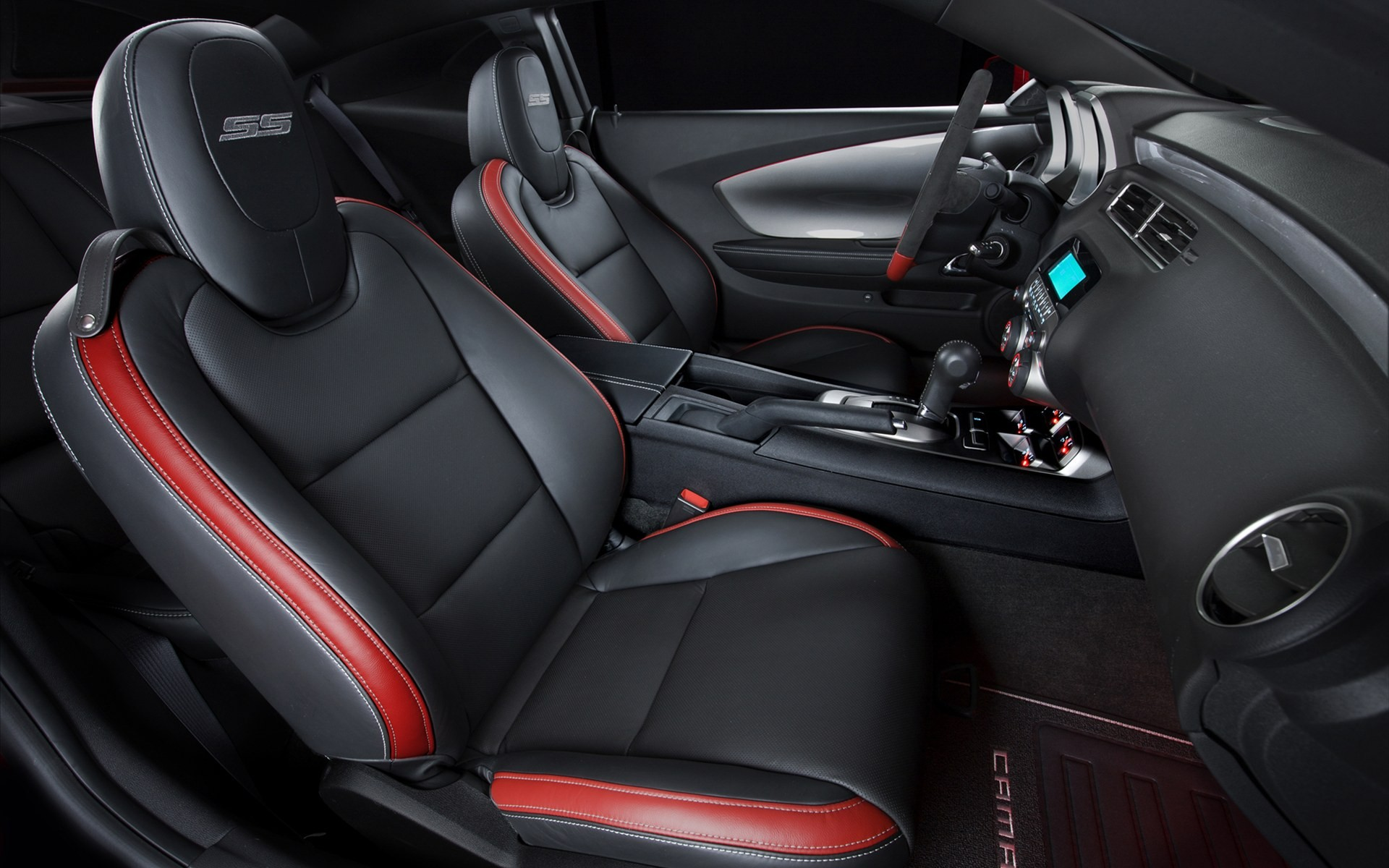 2010 Chevrolet Camaro Red Flash Concept Interior Wallpaper ...