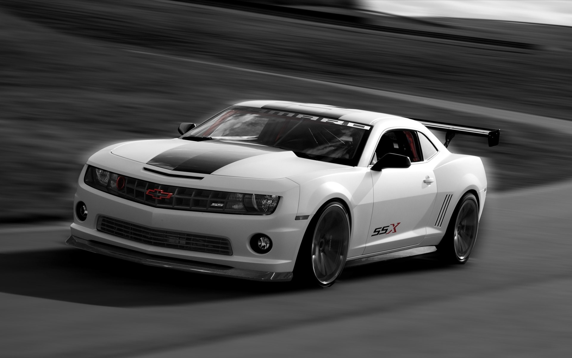 2010 Chevrolet Camaro Ssx Concept Wallpaper Hd Car