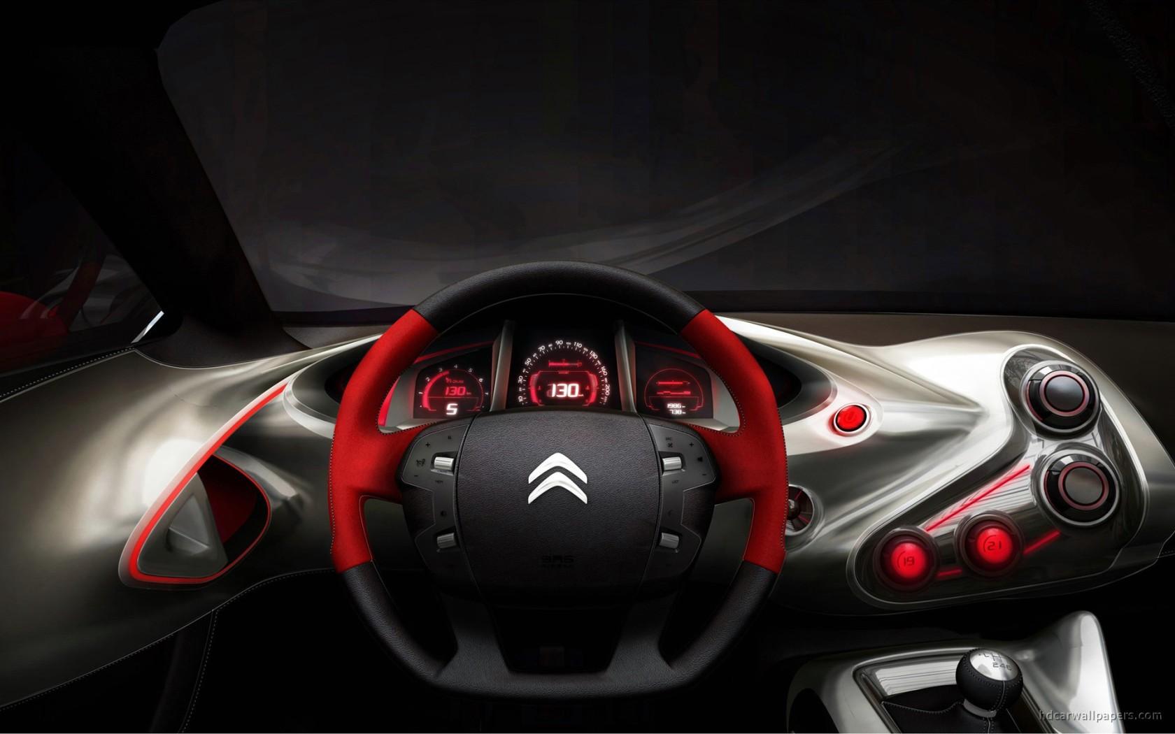 2010 GQbyCITROEN Concept Car Interior Wallpaper HD Car