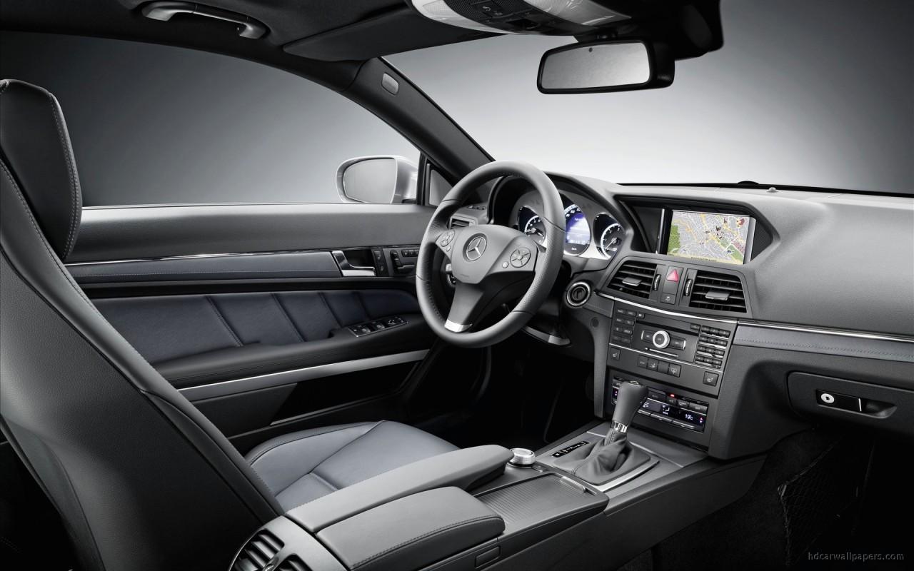 2010 Mercedes Benz E Class Coupe Interior Wallpaper   HD ...