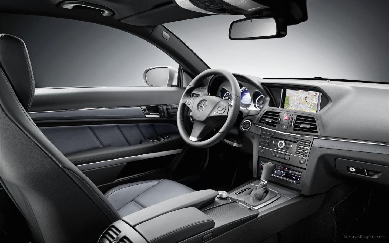 2010 mercedes benz e class coupe interior wallpaper hd car wallpapers id 1260 - Mercedes e coupe interior ...