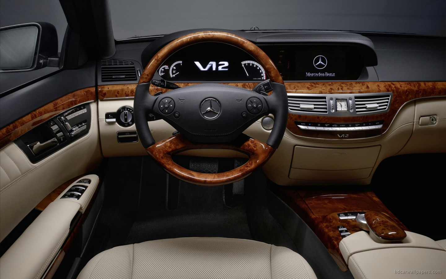 2010 Mercedes Benz S Class Interior Wallpaper Hd Car Wallpapers Id 1264