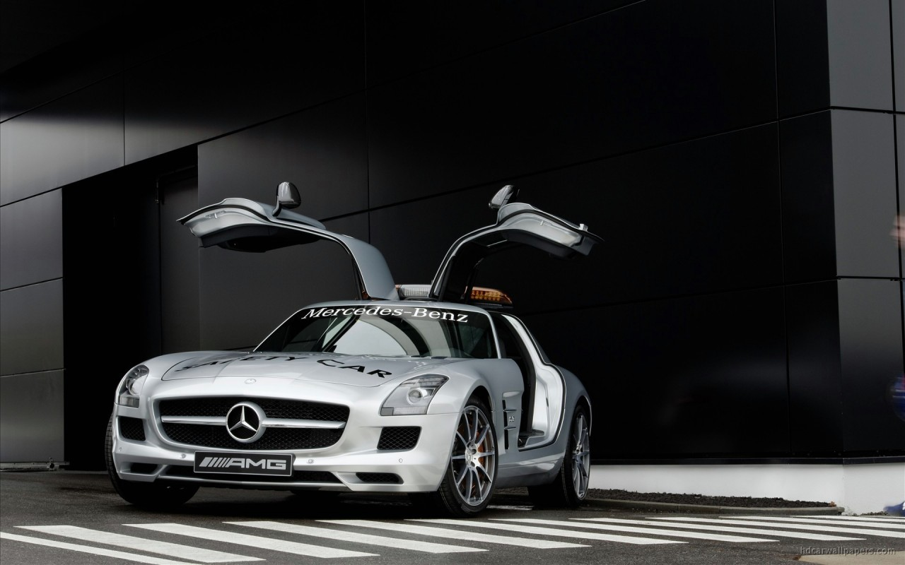 2010 Mercedes Benz Sls Amg F1 Safety Car Wallpaper Hd