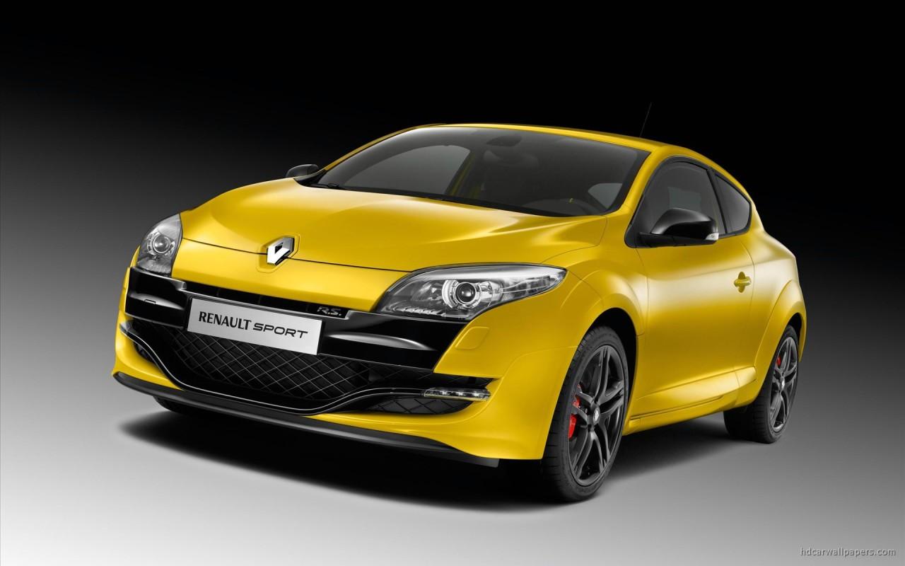Renault Sport Car Wallpaper: 2010 New Megane Renault Sport Wallpaper