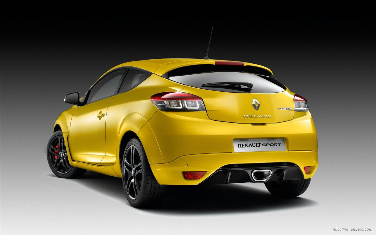 2010 New Megane Renault Sport 3 Wallpaper: 2010 New Megane Renault Sport 2 Wallpaper