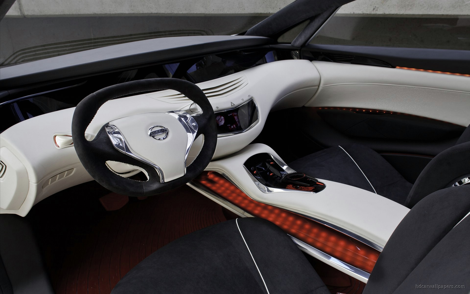 2010 Nissan Ellure Concept Interior Wallpaper | HD Car ...