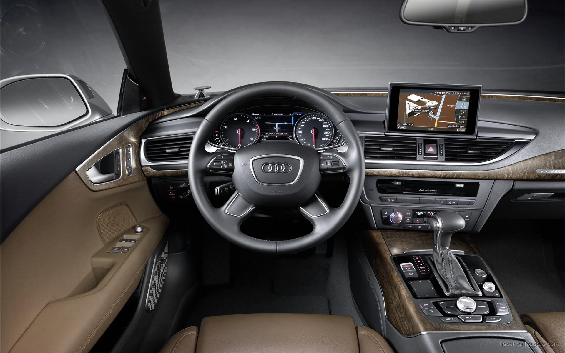 2011 Audi A7 Interior Wallpaper | HD Car Wallpapers | ID #1840