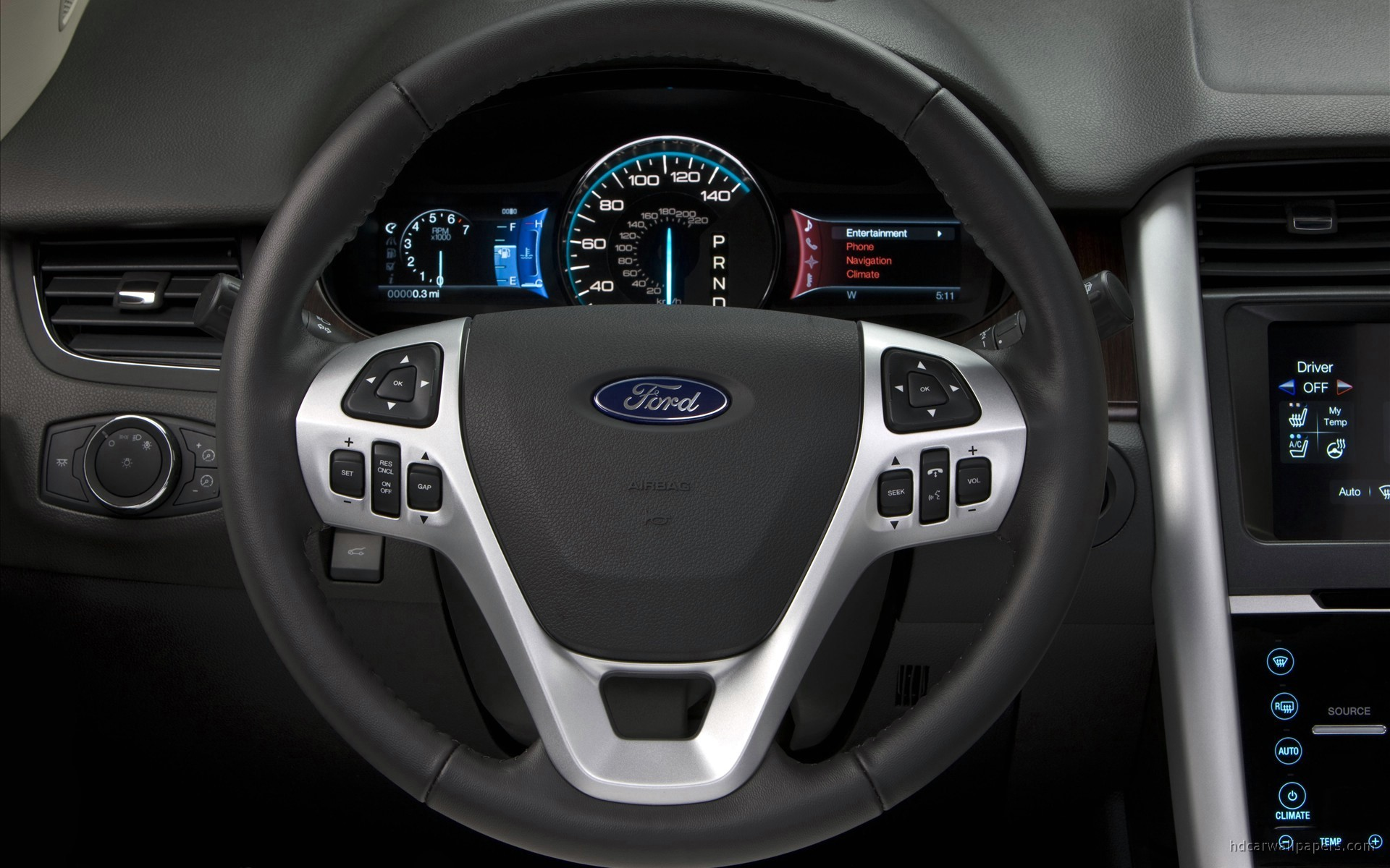 2011 Ford Edge Interior Wallpaper | HD Car Wallpapers | ID #650