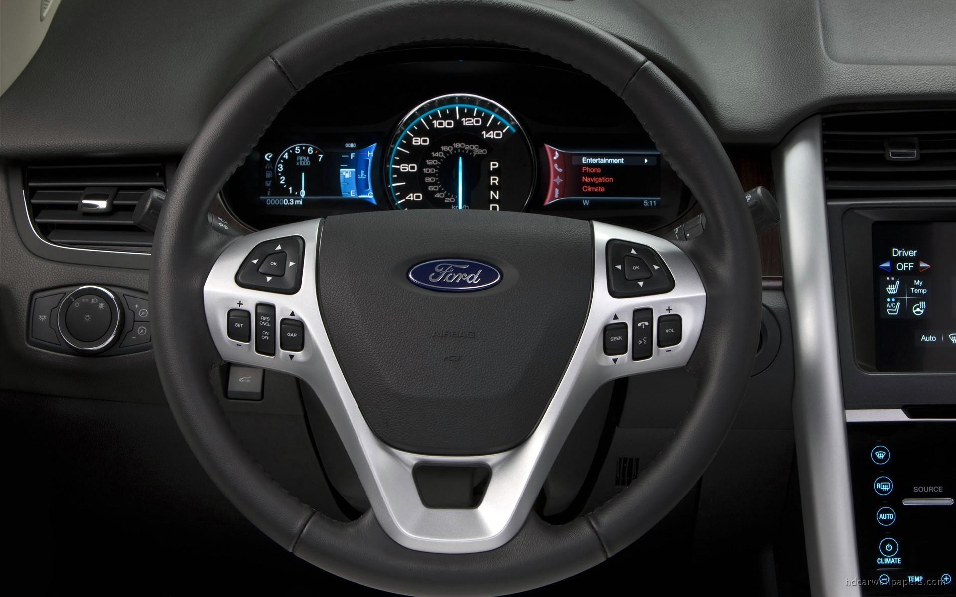 2011 Ford Edge Interior Wallpaper Hd Car Wallpapers Id