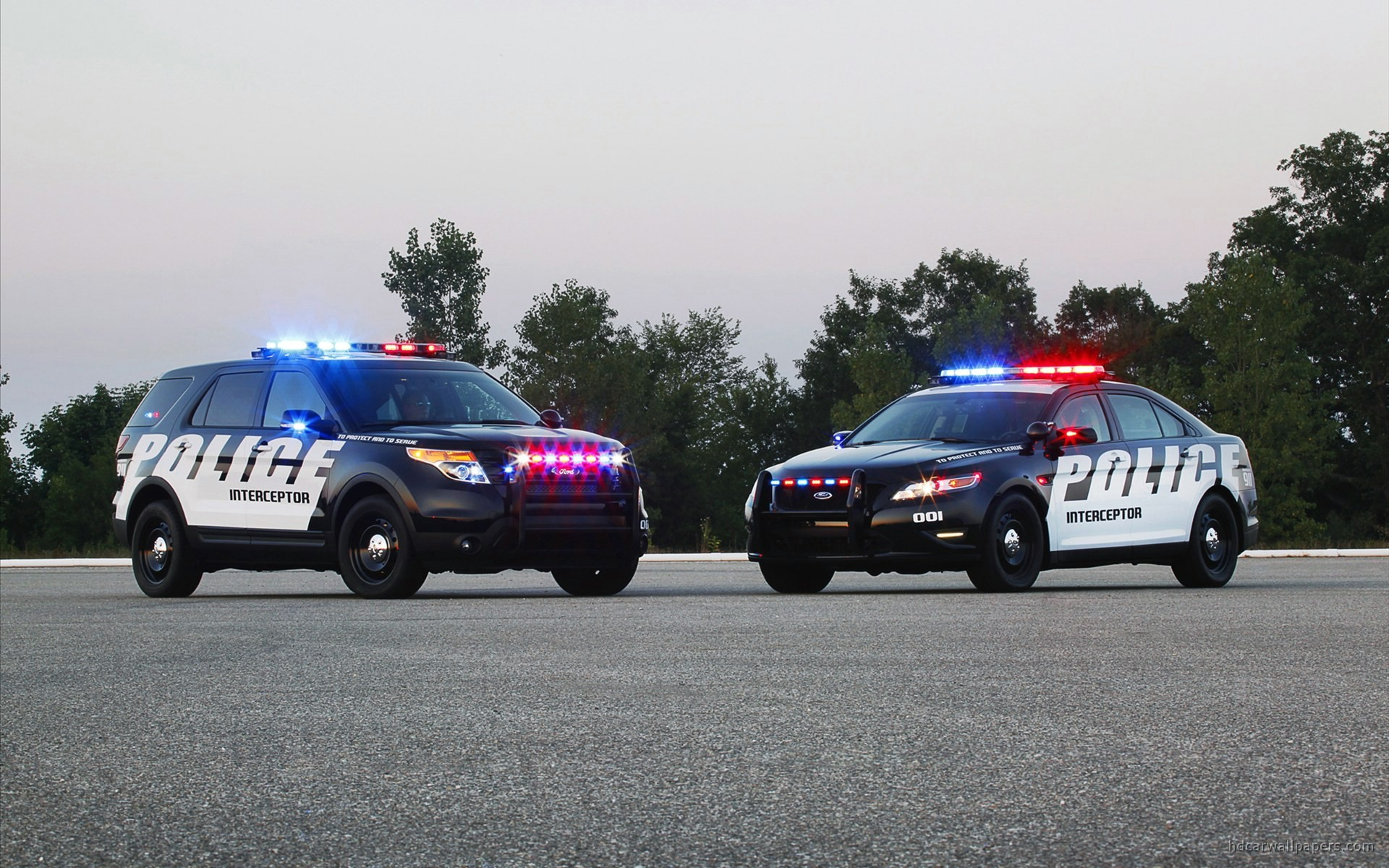 2011 Ford Police Interceptor SUV Wallpaper | HD Car Wallpapers | ID #1637