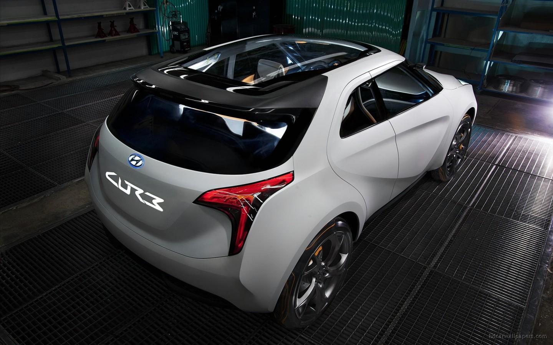 2011 Hyundai Curb Concept 2 Wallpaper Hd Car Wallpapers