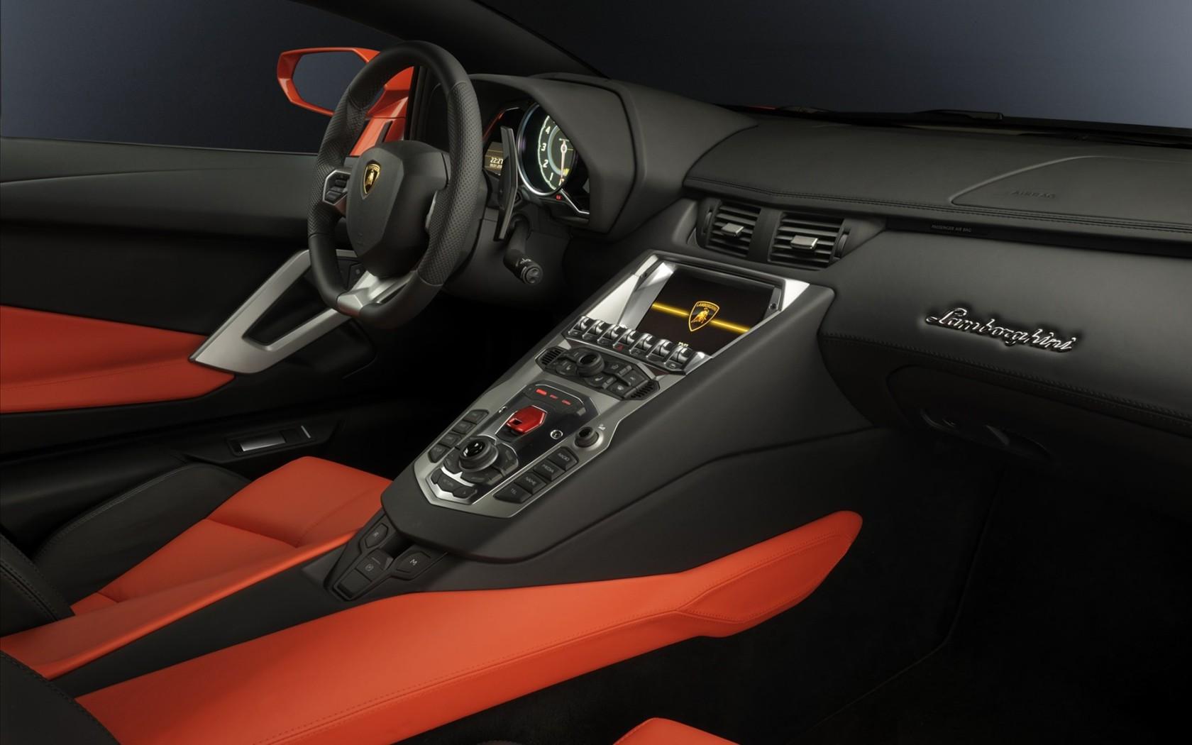 2011 Lamborghini Aventador Interior Wallpaper in 1680x1050 ...