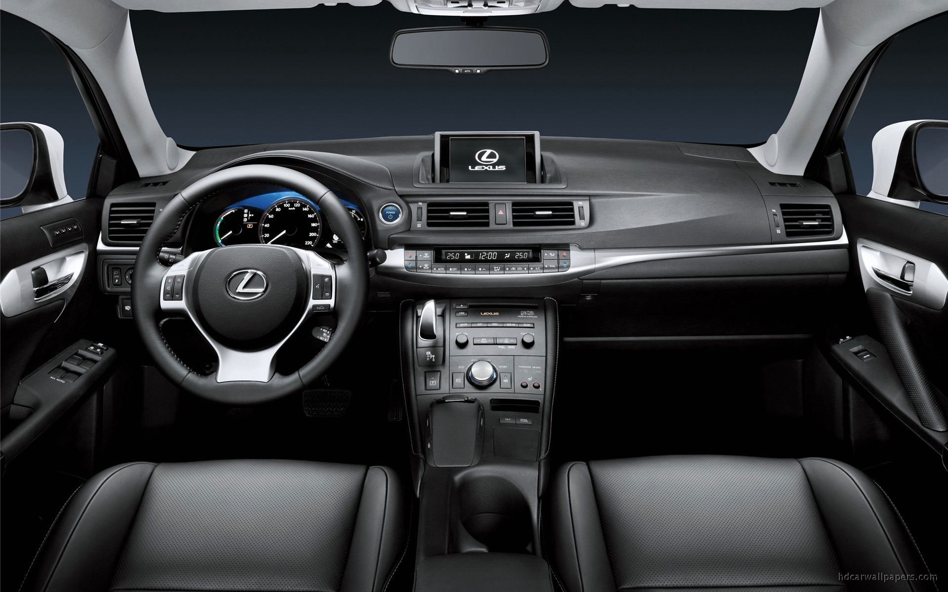 2011 lexus ct 200h interior wallpaper hd car wallpapers id 1070. Black Bedroom Furniture Sets. Home Design Ideas