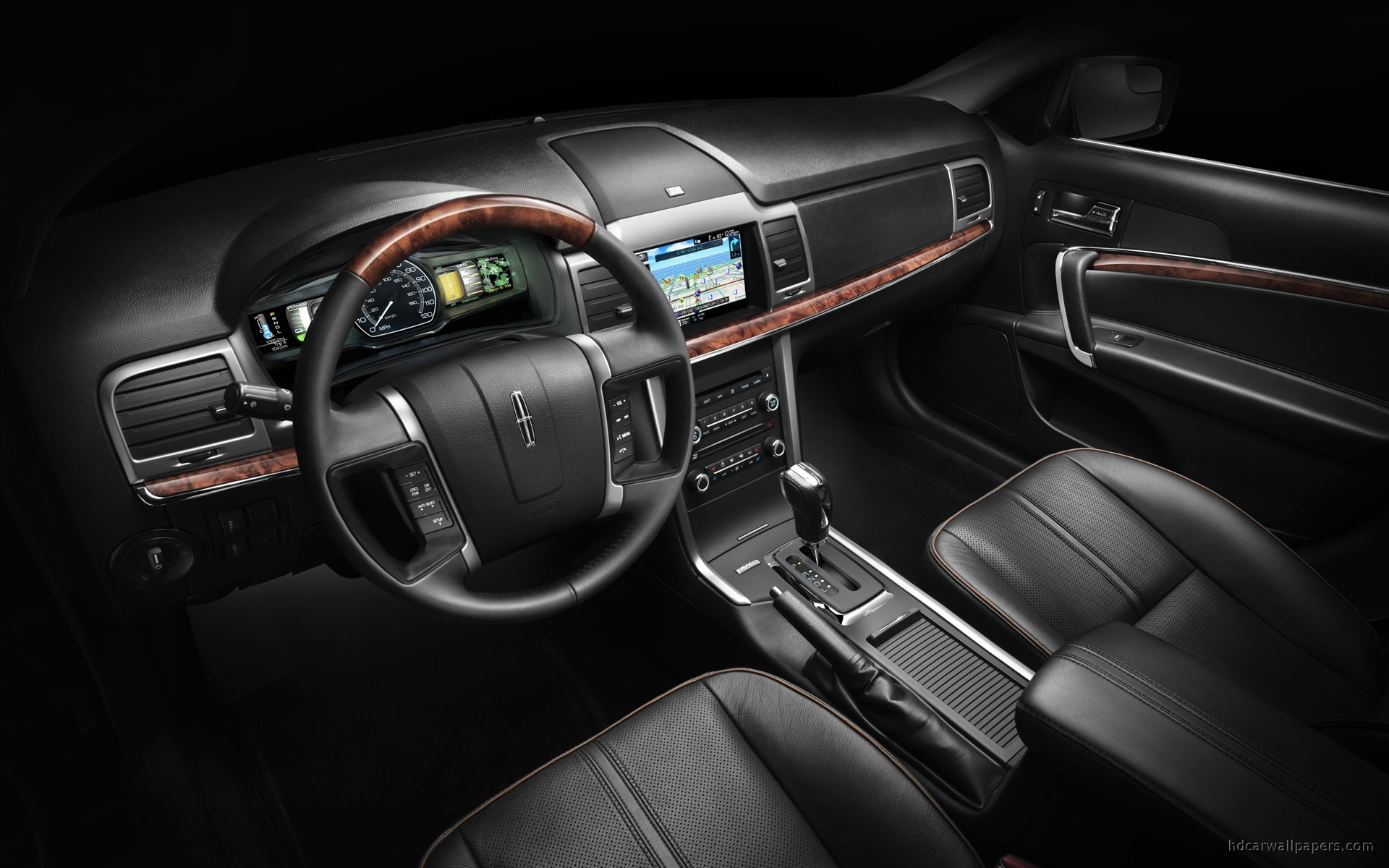 2011 Lincoln Mkz Hybrid Interior Wallpaper Hd Car