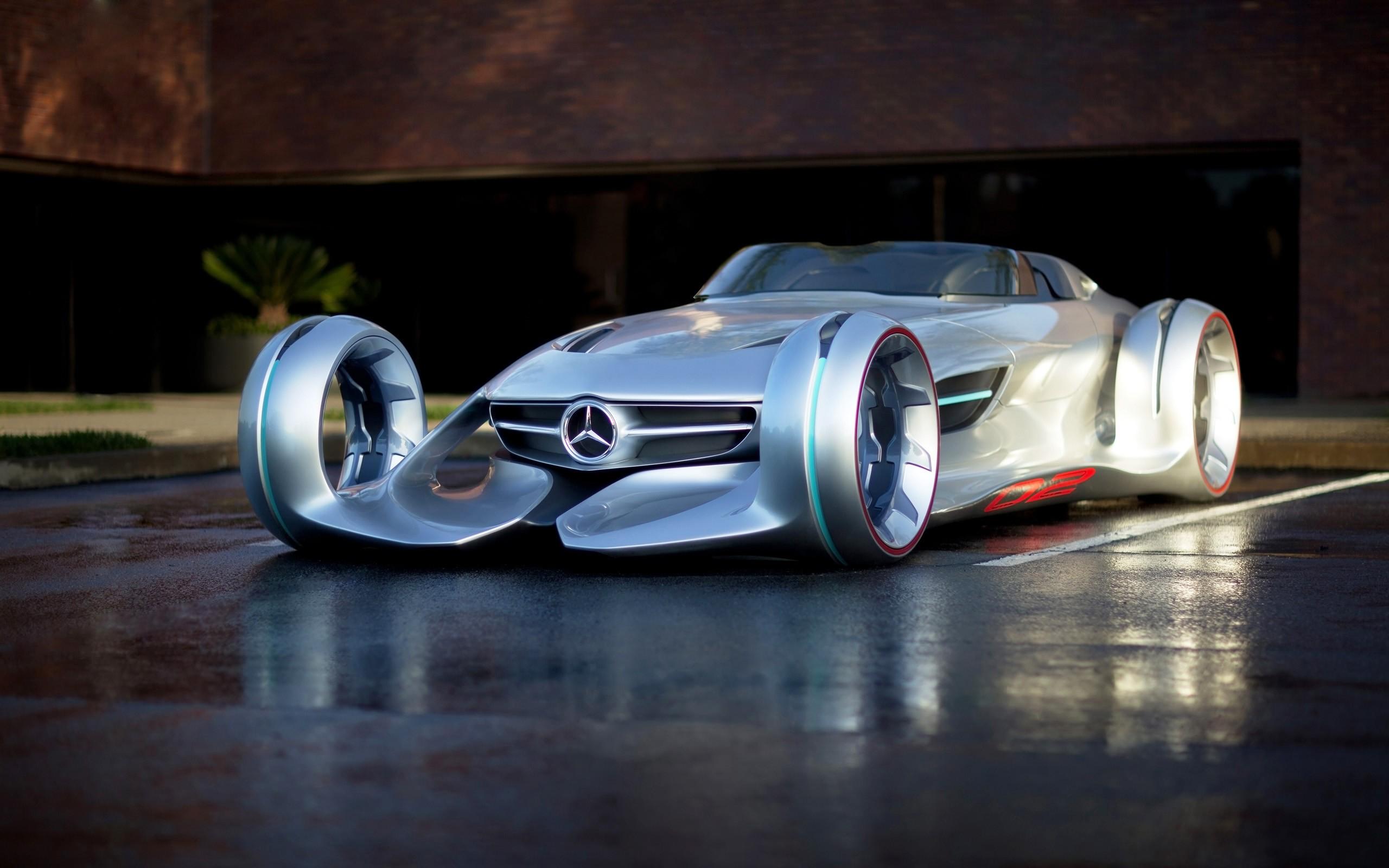 2011 Mercedes Benz Silver Arrow Concept Wallpaper Hd Car