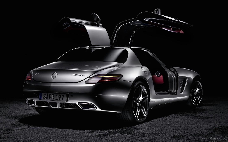 2011 Mercedes Benz SLS AMG 7 Wallpaper
