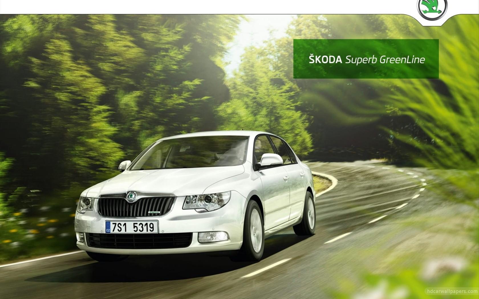 2011 Skoda Superb GreenLine Wallpaper in 1680x1050 Resolution