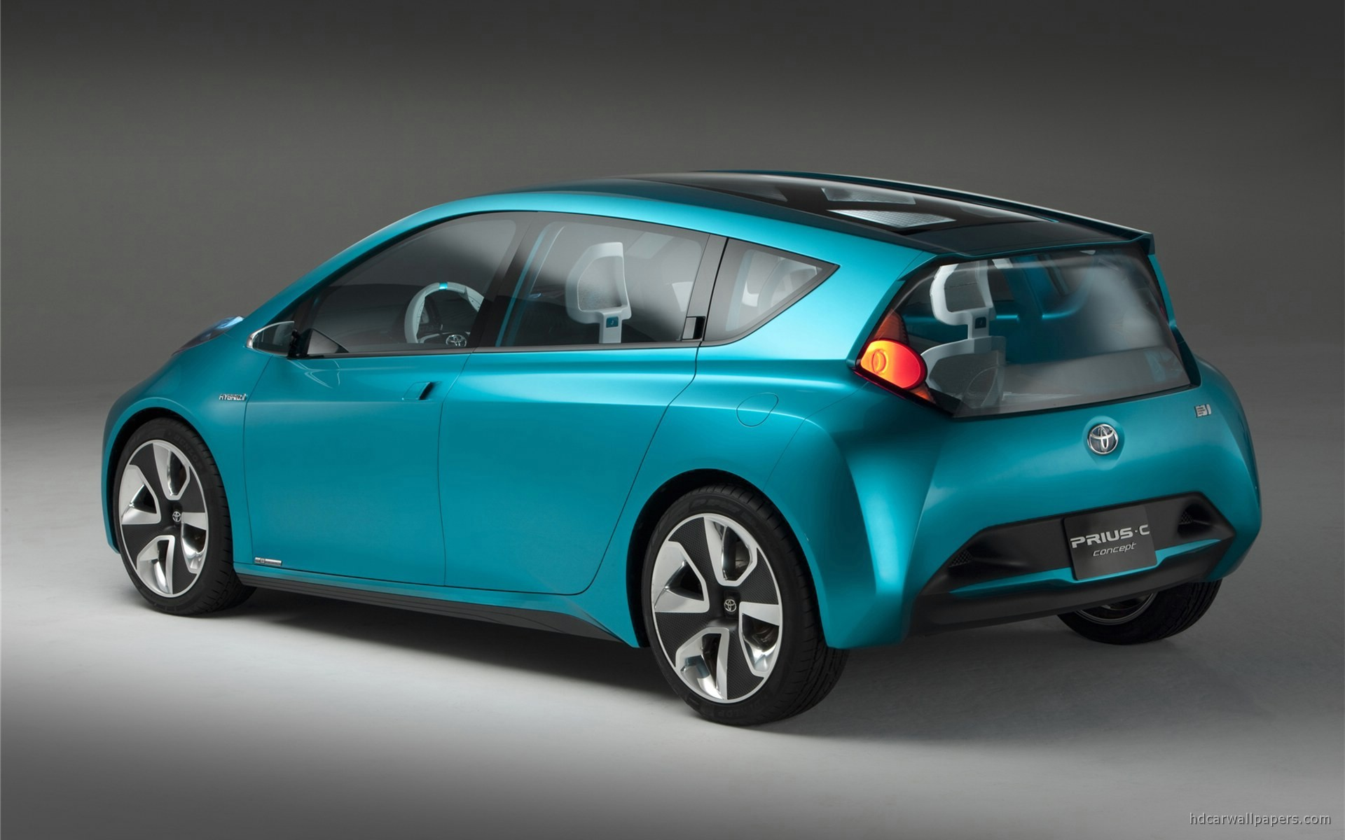 2011 Toyota Prius C Concept 2 Wallpaper Hd Car