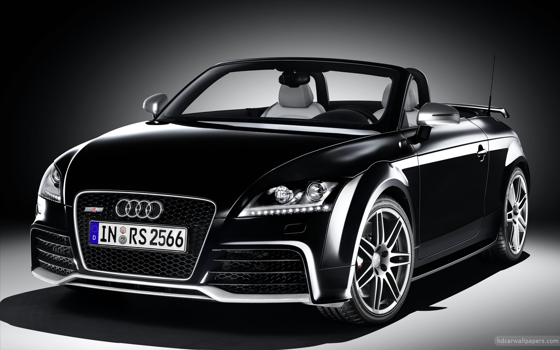 2012 audi tt rs black wallpaper hd car wallpapers id 2213. Black Bedroom Furniture Sets. Home Design Ideas