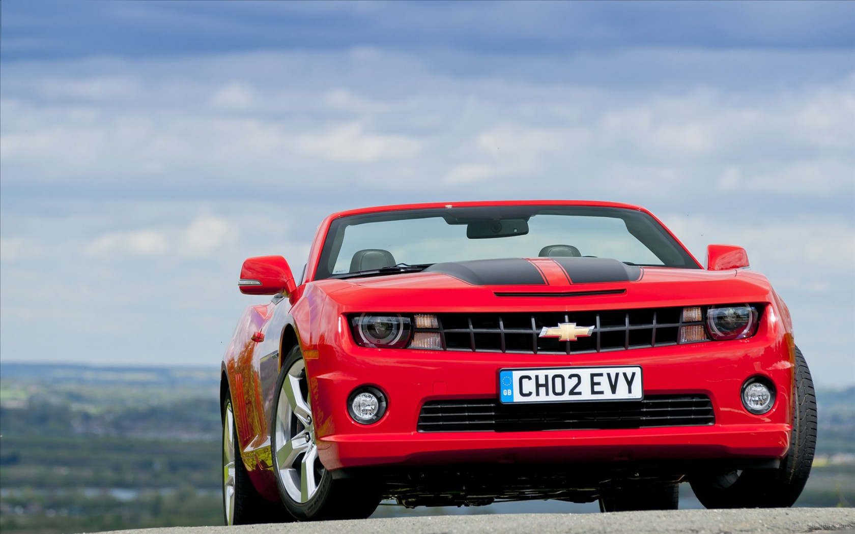 2012 Chevrolet Camaro Convertible Wallpaper Hd Car