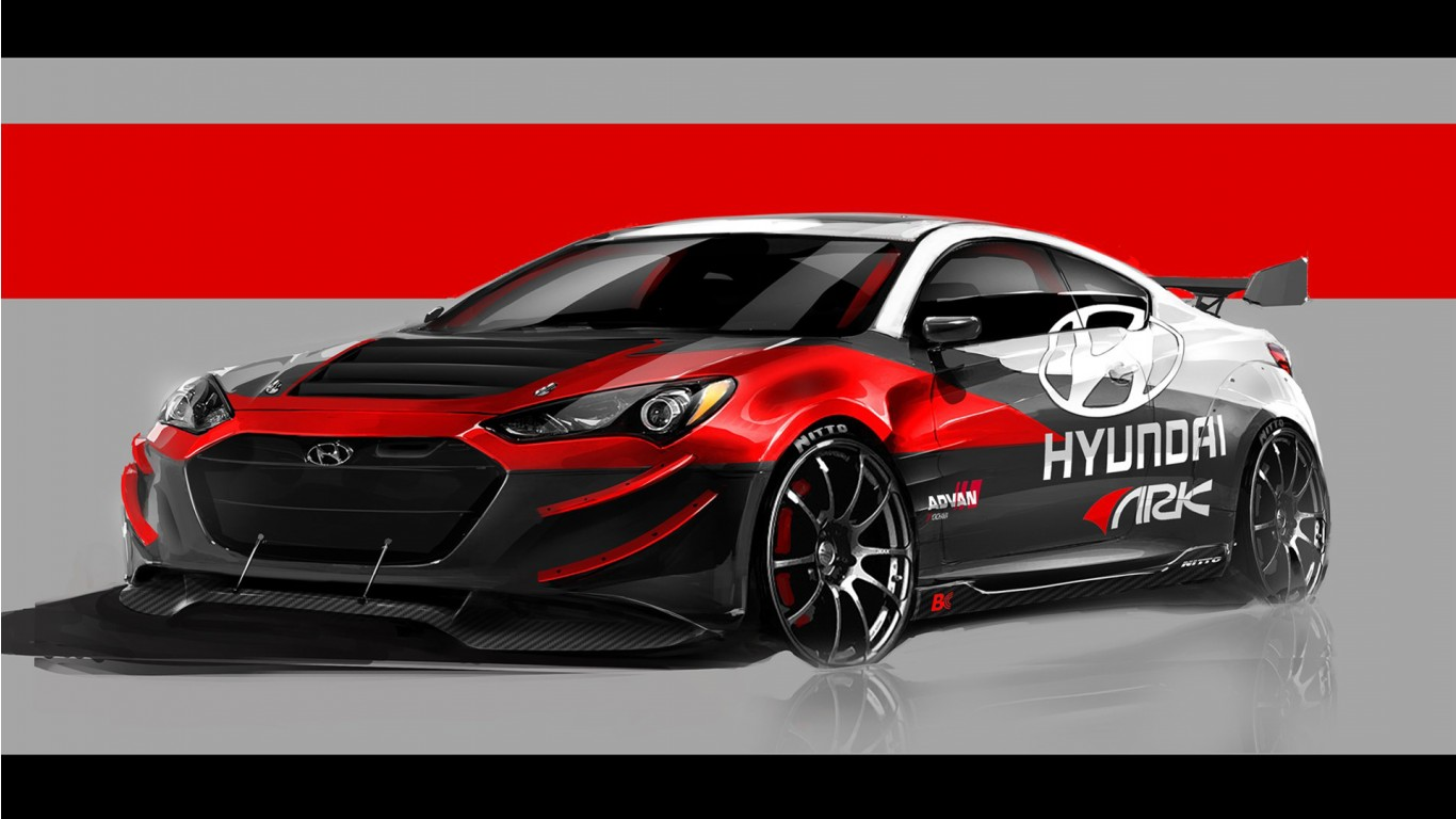 2012 hyundai genesis coupe r wallpaper hd car wallpapers id 3116 - Hyundai genesis coupe motor ...