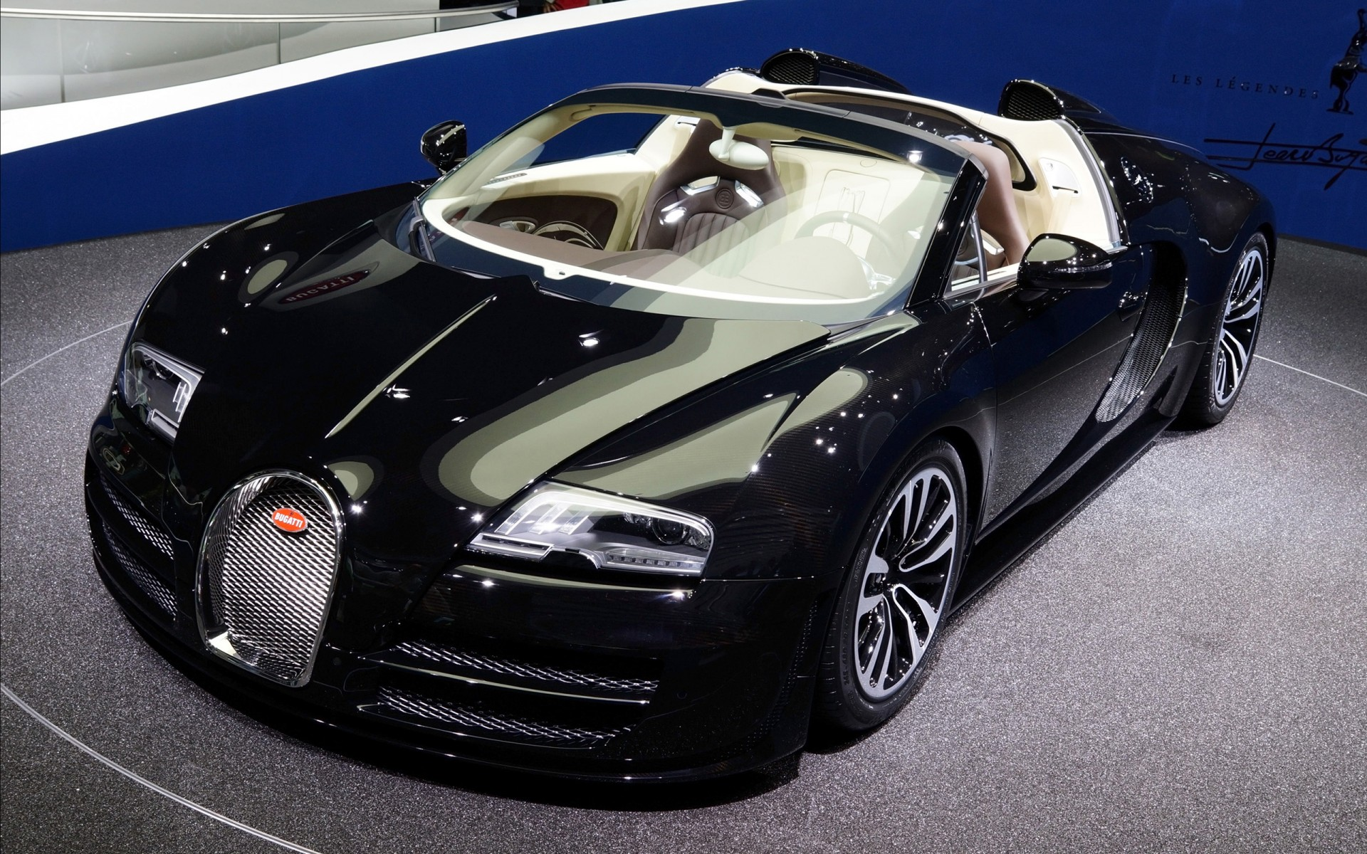 Cars Wallpapers: 2013 Bugatti Veyron IAA Frankfurt Motor Show Wallpaper