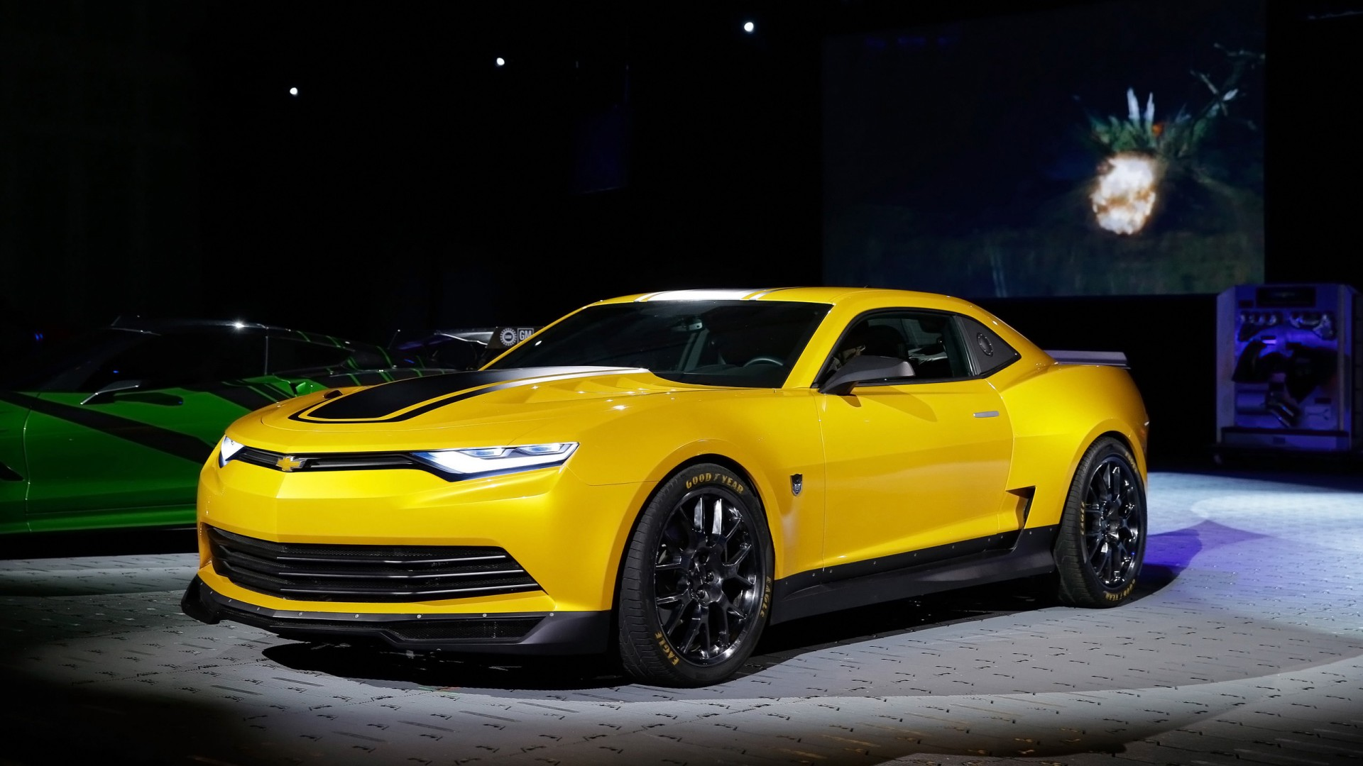 2013 Chevrolet Camaro Concept Sema Wallpaper Hd Car