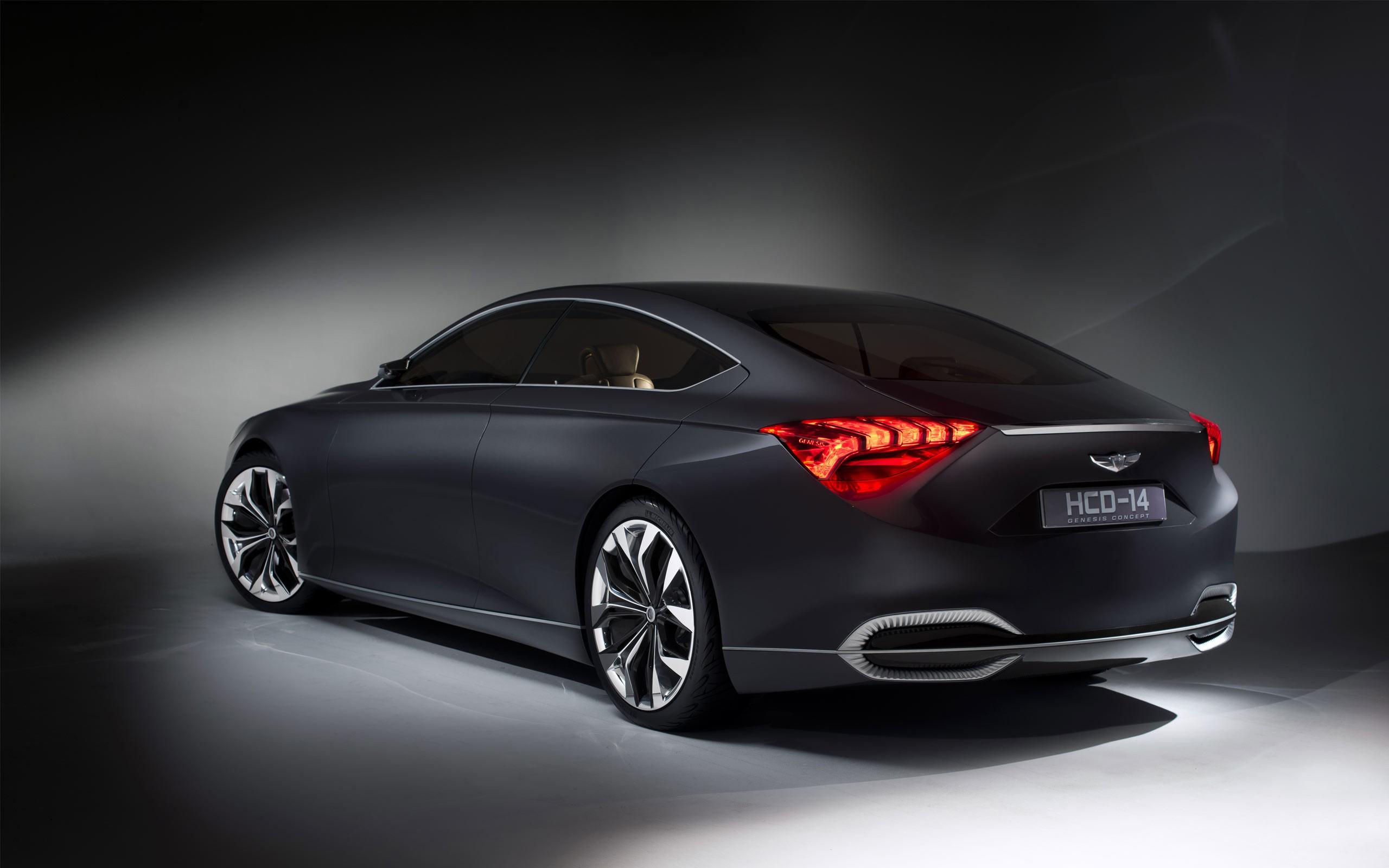 2013 Hyundai HCD 14 Genesis Concept 2 Wallpaper | HD Car ...