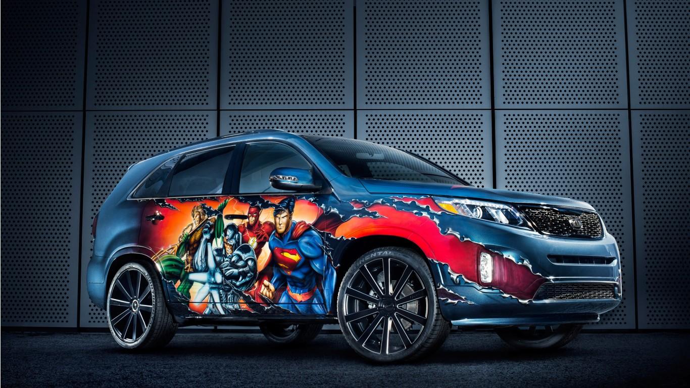 Kia Stinger Gt Line >> 2013 Kia Justice League Sorento 2 Wallpaper   HD Car ...