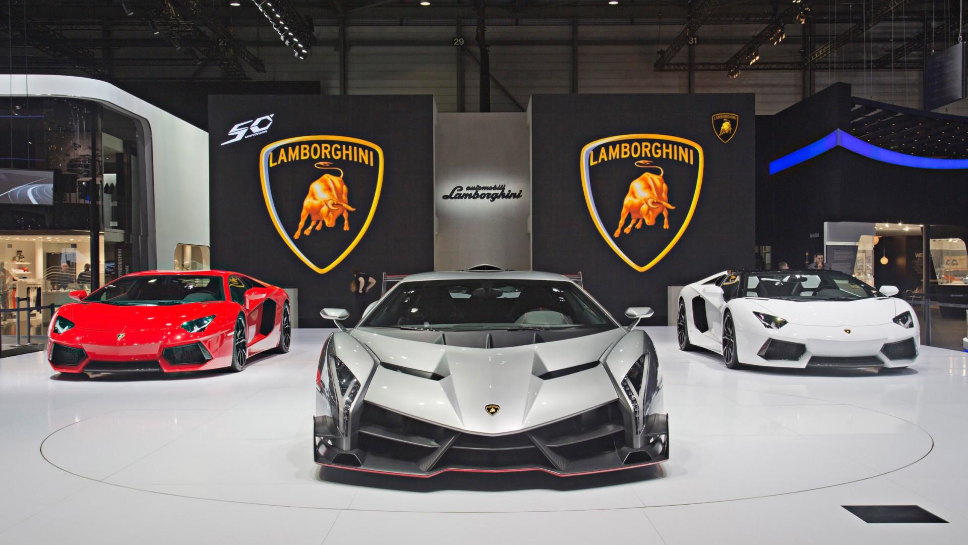 2013 Lamborghini Veneno Geneva Motor Show Wallpaper | HD ...