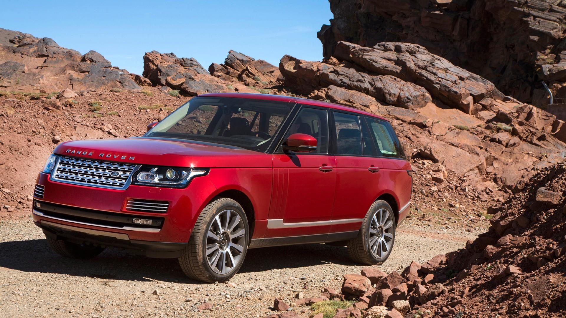 Black Range Rover Sport Wallpaper: 2013 Land Rover Range Rover In Morocco Wallpaper