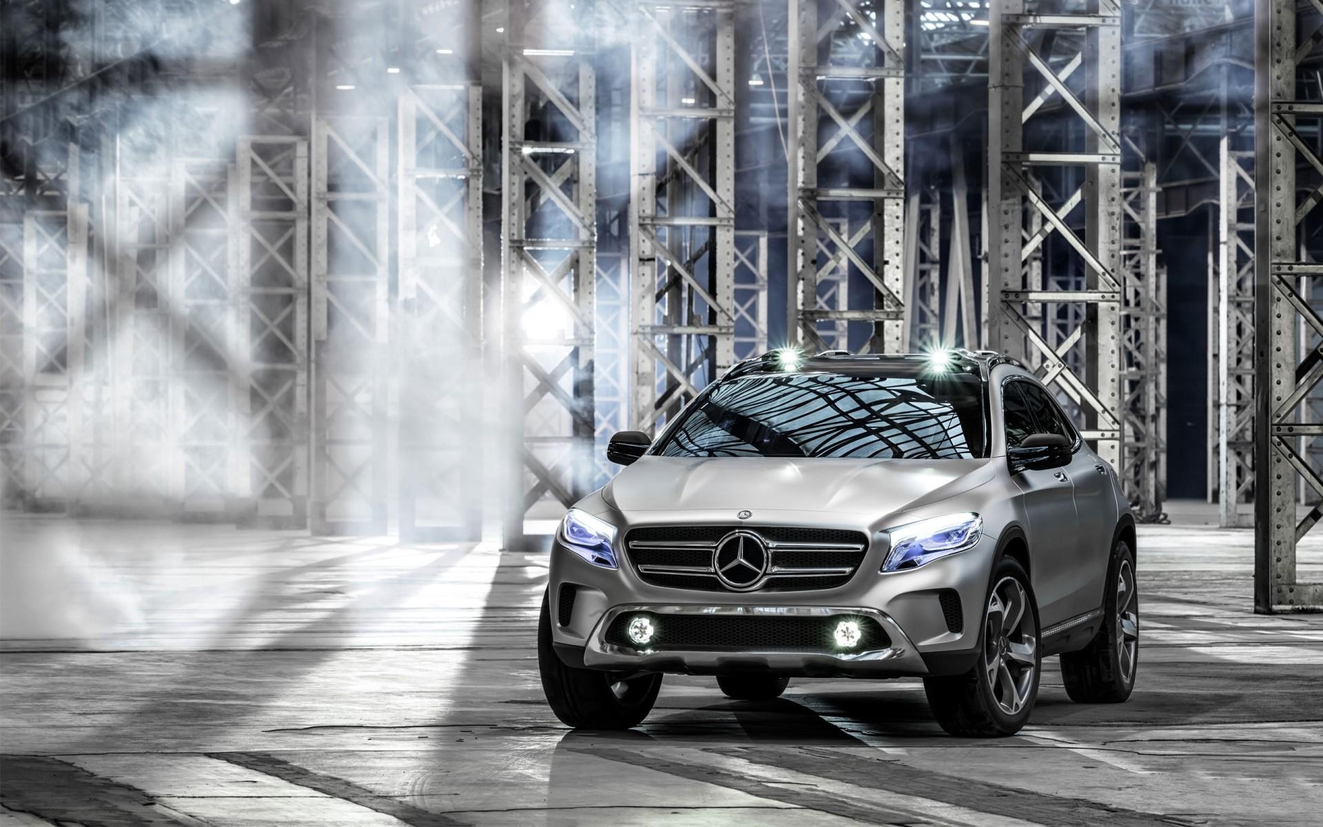 2013 Mercedes Benz Gla Concept Wallpaper Hd Car