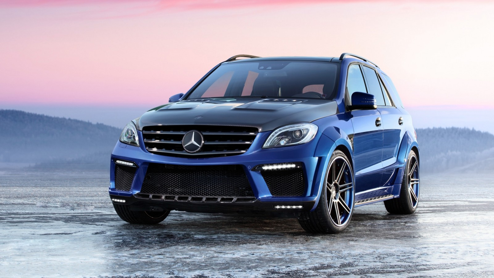 2013 mercedes benz ml 63 amg inferno by topcar wallpaper for Mercedes benz amg ml63
