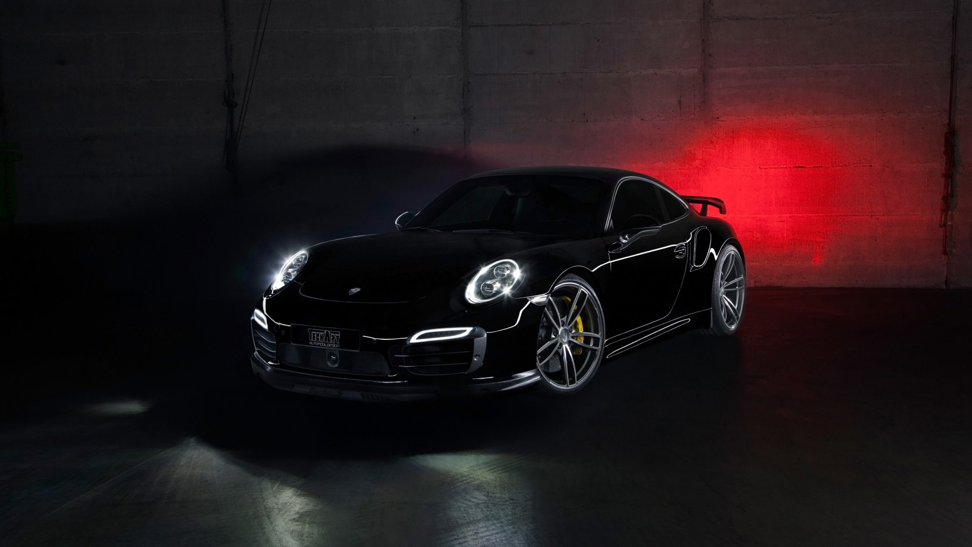 2013 TechArt Porsche 911 Turbo Wallpaper