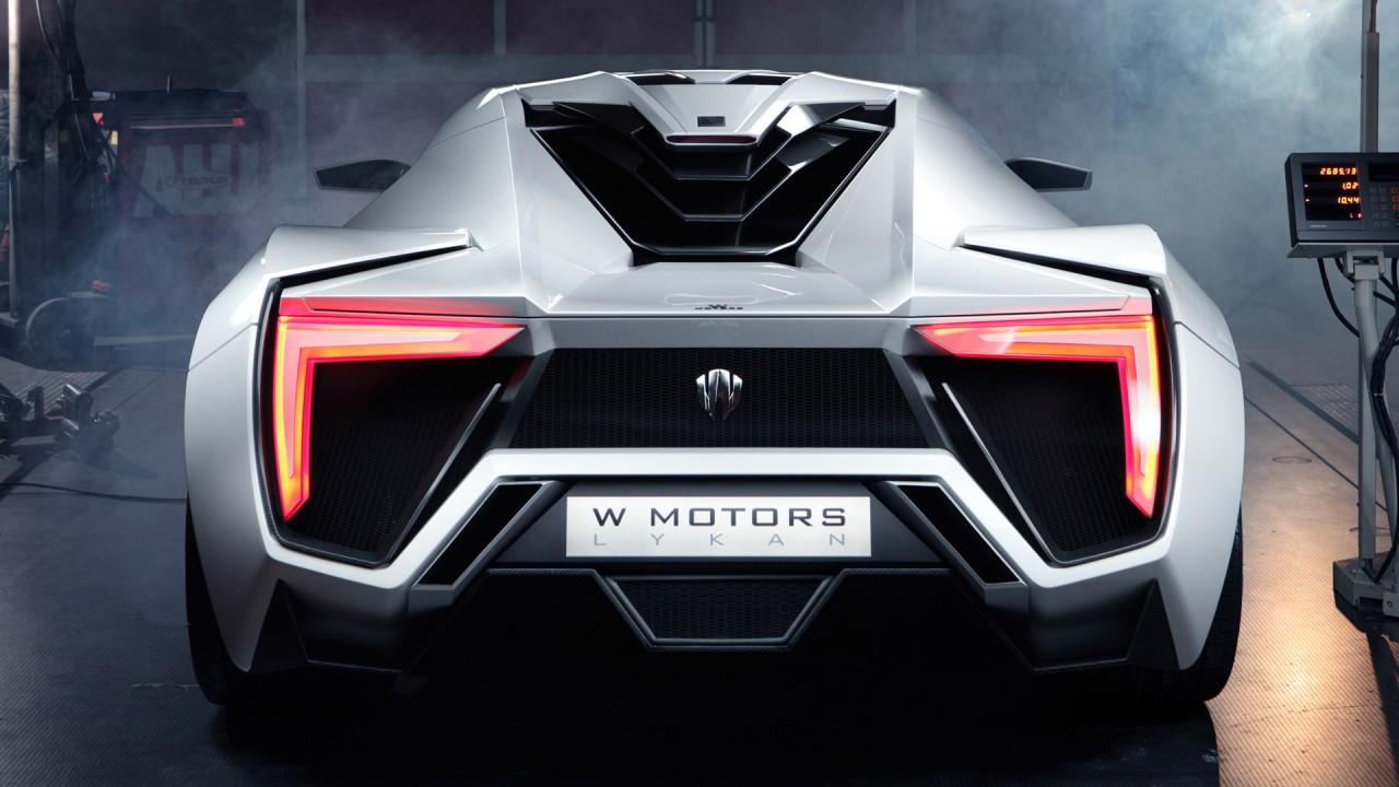 2013 W Motors Lykan Hypersport 4 Wallpaper Hd Car