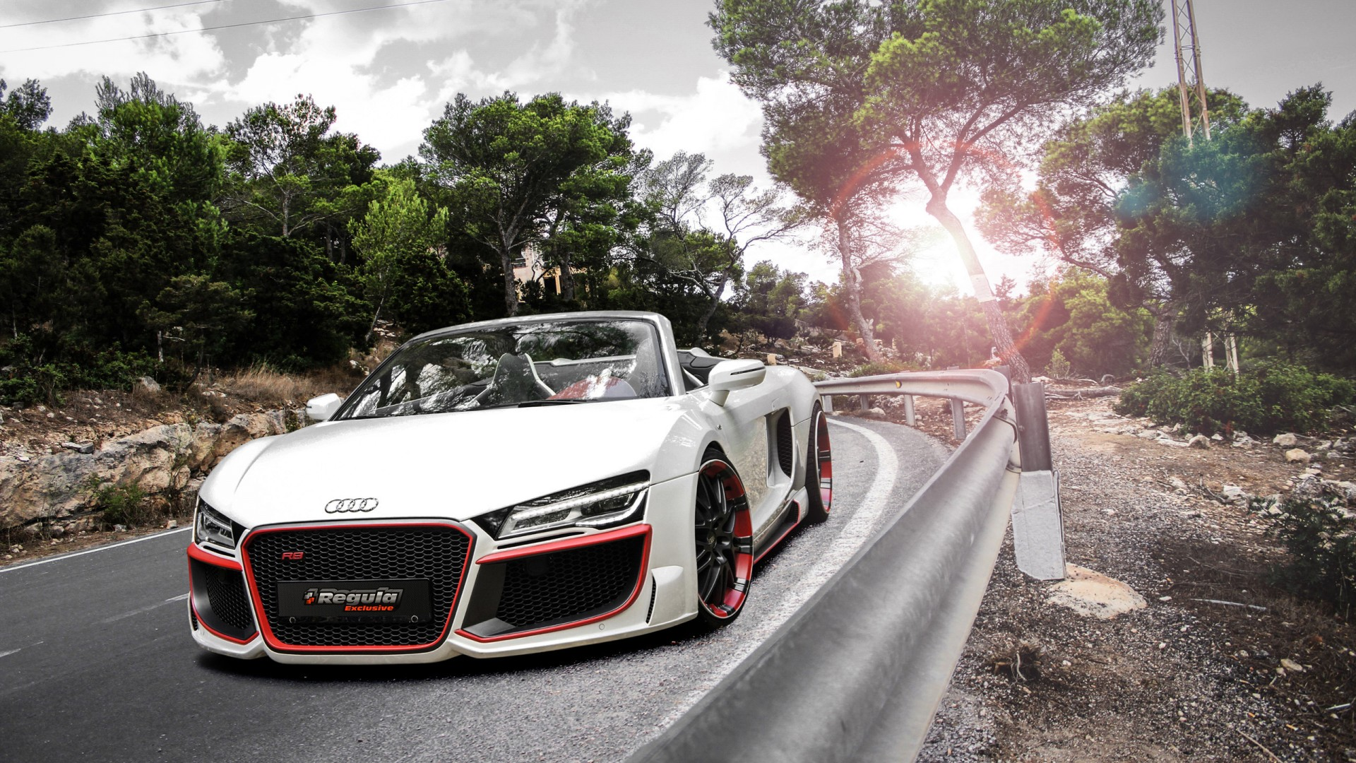 Audi R V Spyder By Regula Tuning X on Audi R8 Regula
