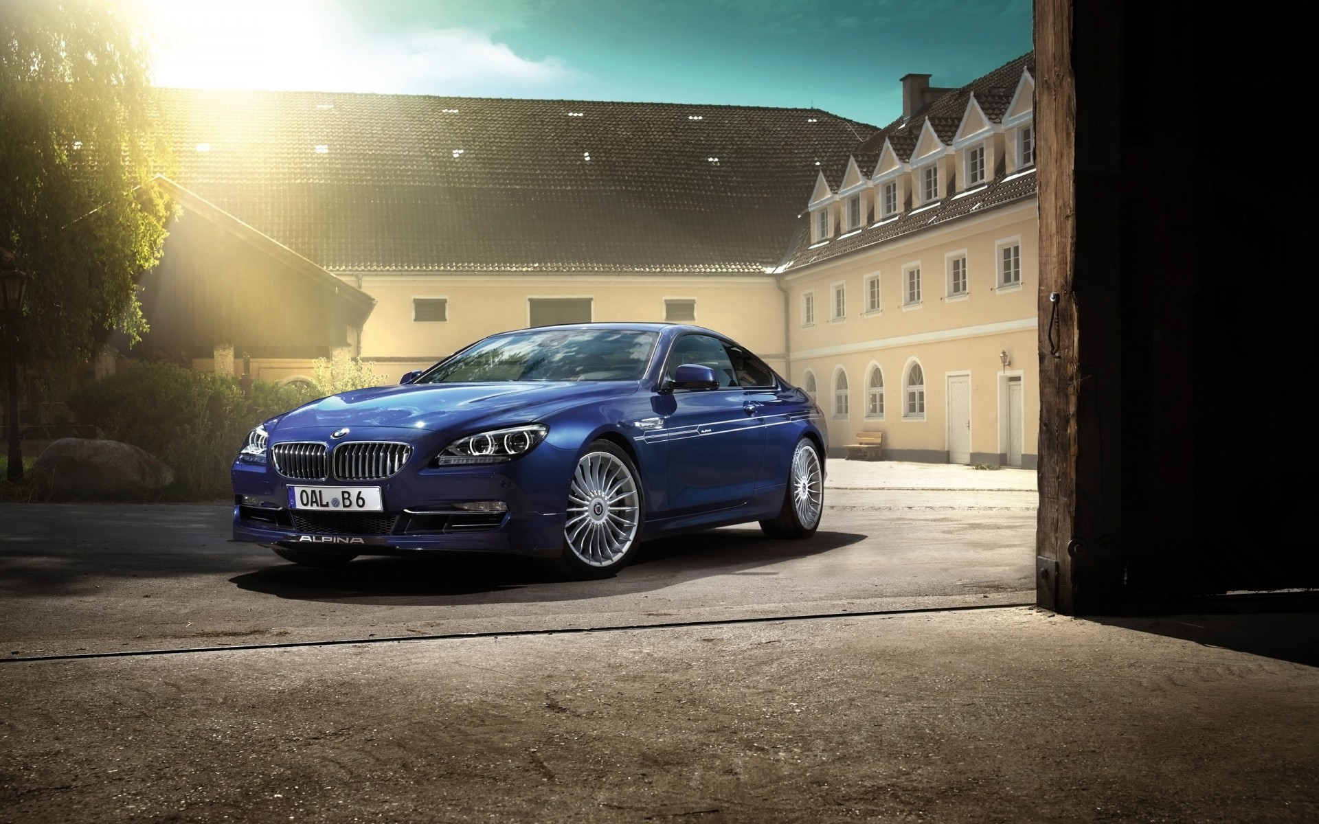 2014 Bmw Alpina B6 Bi Turbo Gran Coupe Wallpaper Hd Car