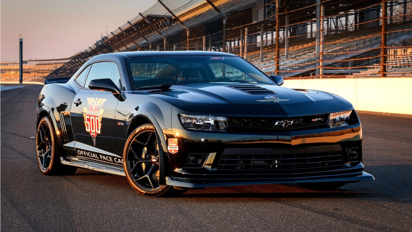 2014 Hd Wallpapers: 2014 Chevrolet Camaro Z28 Indy 500 Pace Car Wallpaper