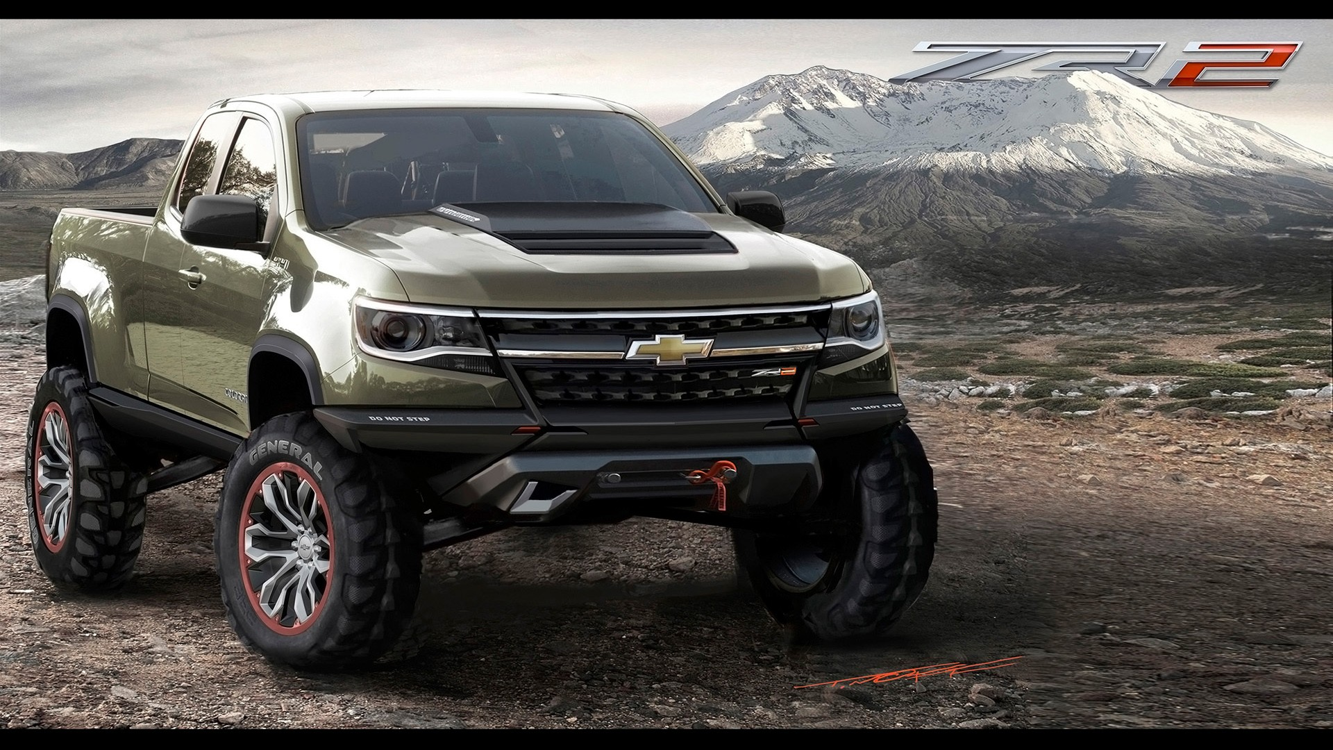 2014 Chevrolet Colorado ZR2 Concept Wallpaper | HD Car ...