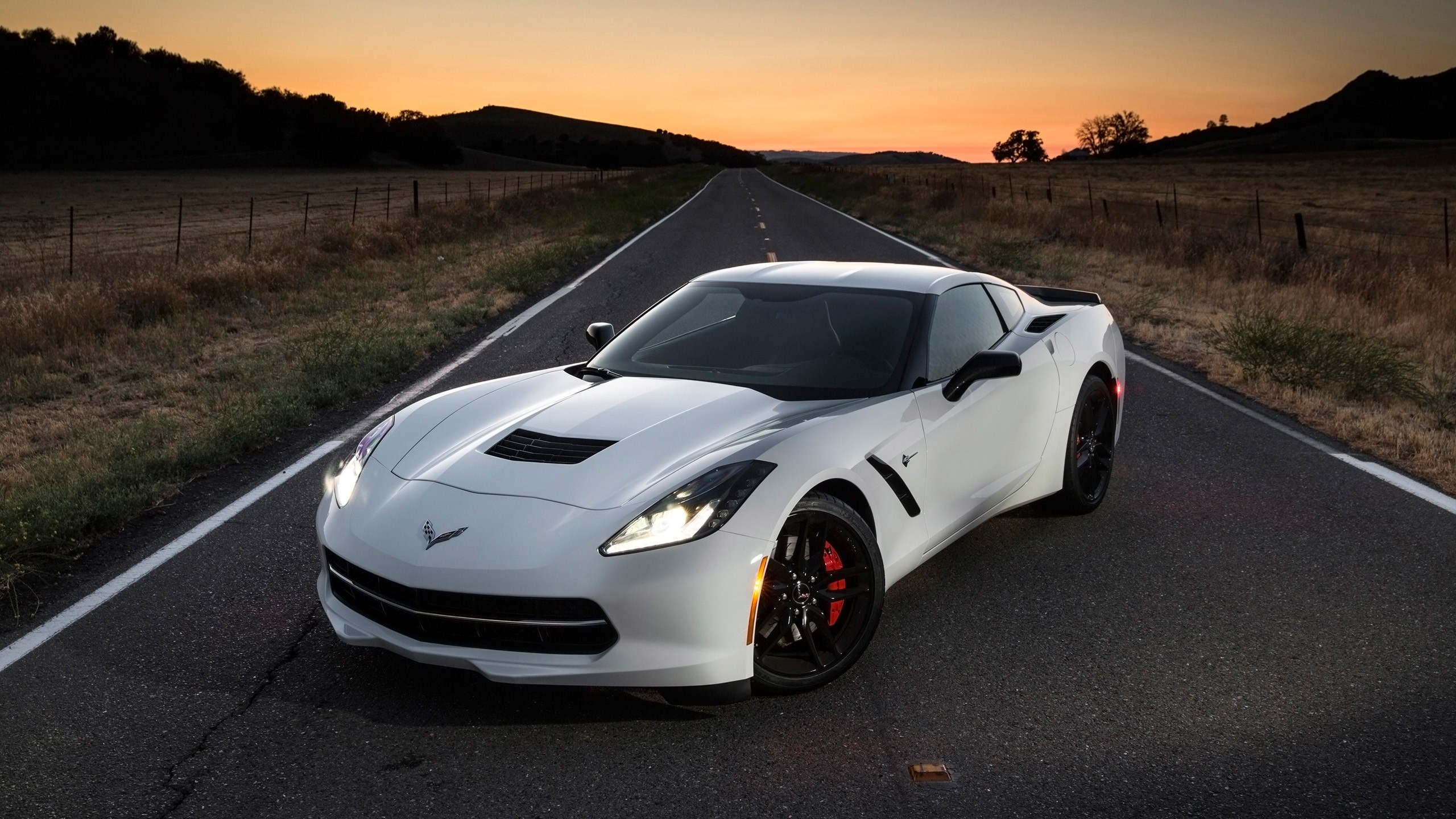 2014 Chevrolet Corvette Stingray Wallpaper Hd Car
