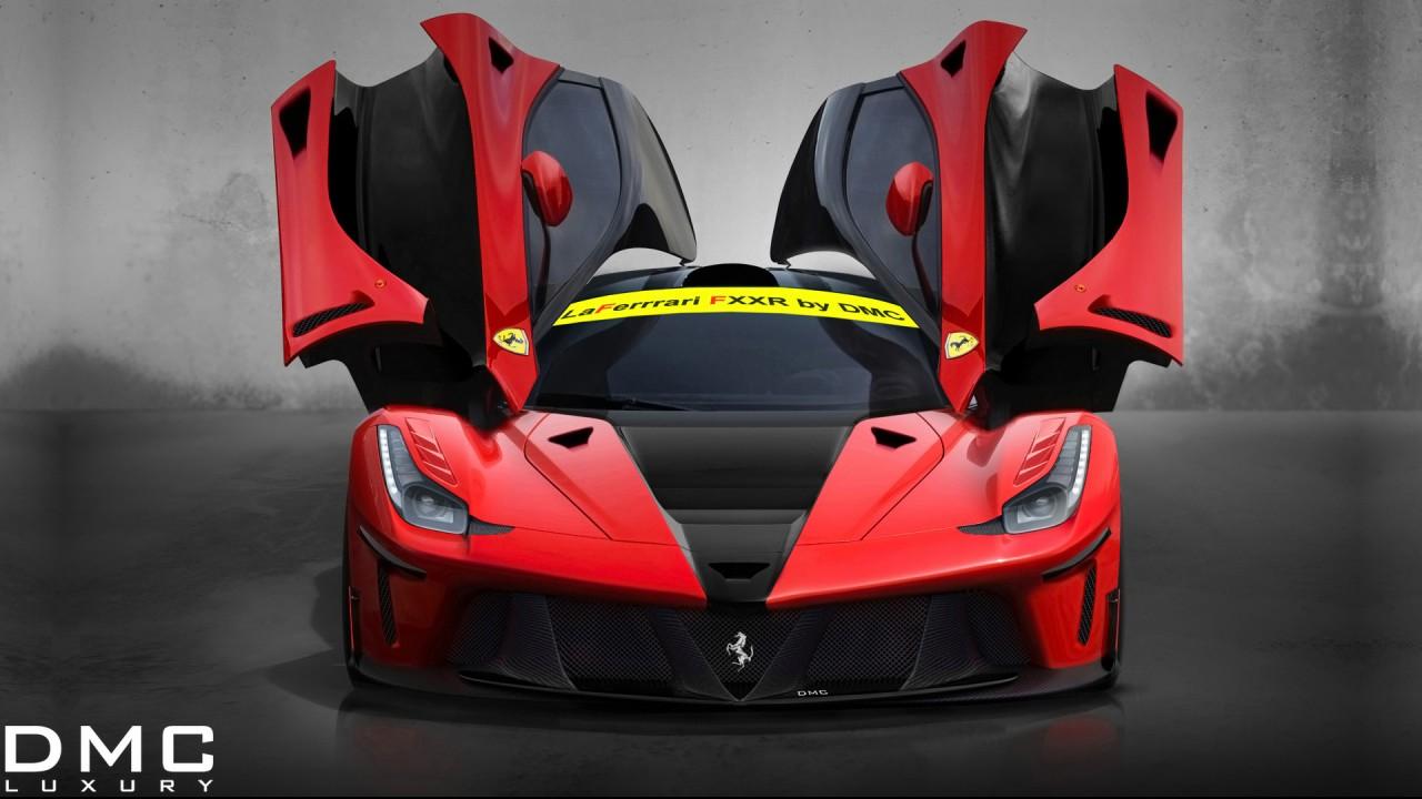 2014 Dmc Ferrari Laferrari Fxxr 3 Wallpaper Hd Car